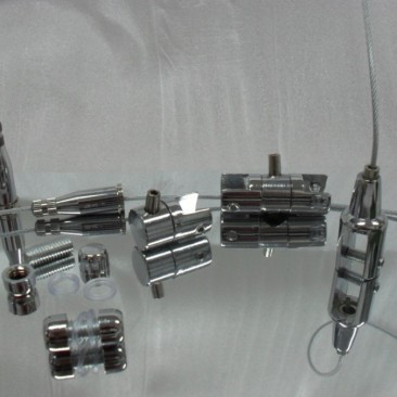 Clamps, Ceiling plug and cable