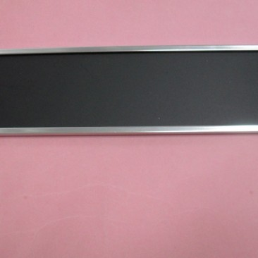 Door Plate Holder Silver 2 inch