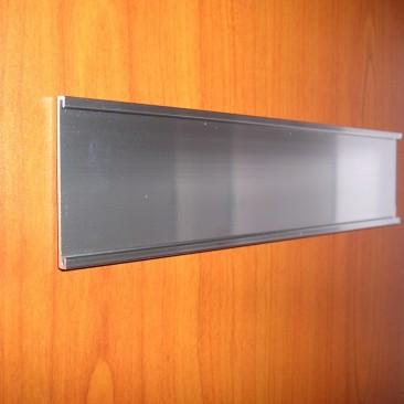 Door Plate Holder Silver
