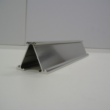 "Desk Stand Double sided Silver 1-1/4"" x 8"""