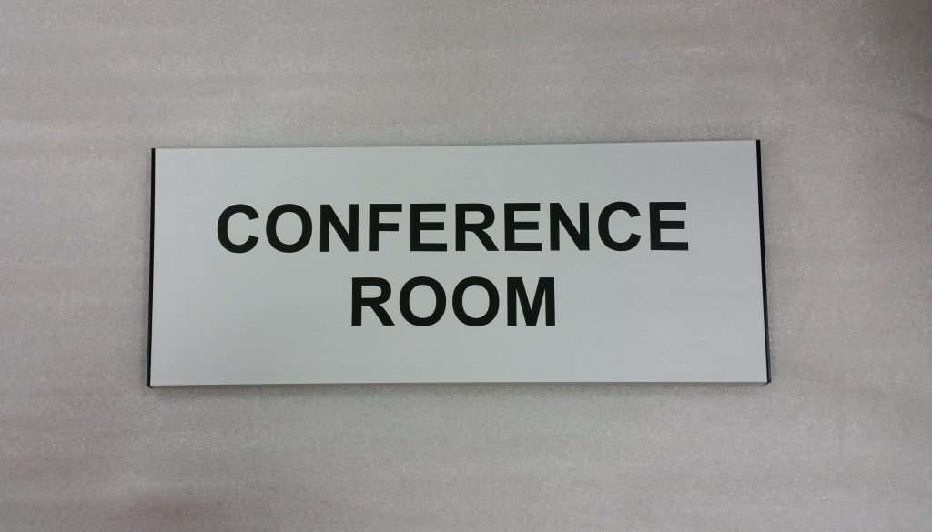 conference room signs and vacant occupied slider signs grelsons