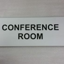 Conference Room flat sign