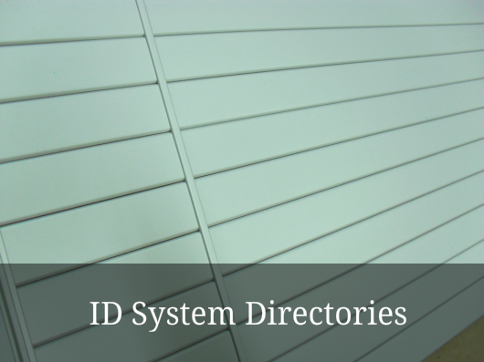 ID system directories