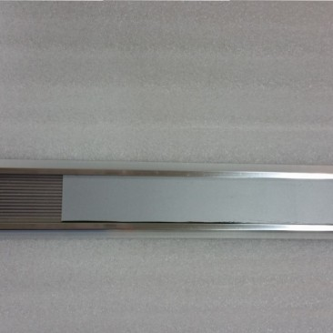 Polished Silver Rib Holder